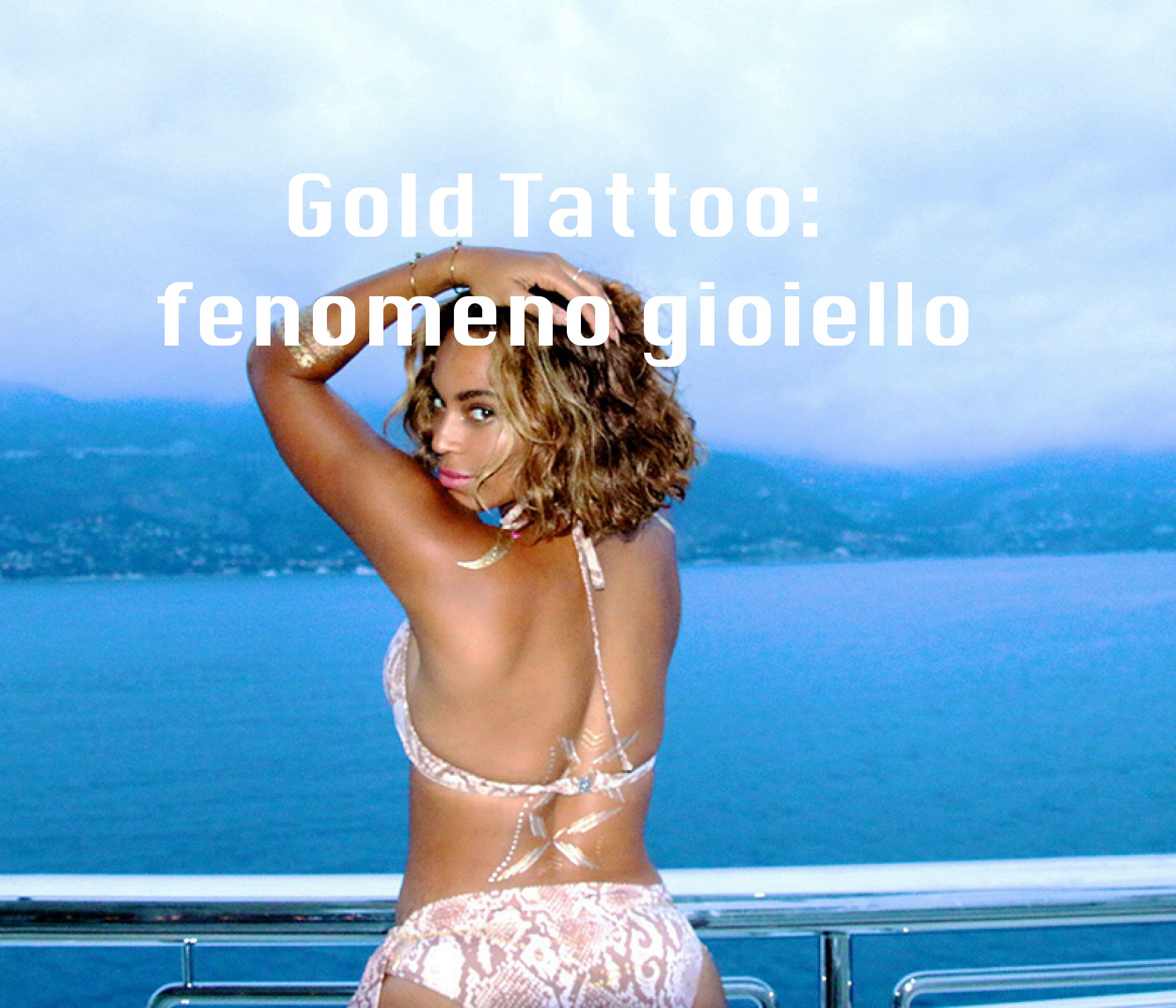 Gold Tattoo: fenomeno gioiello