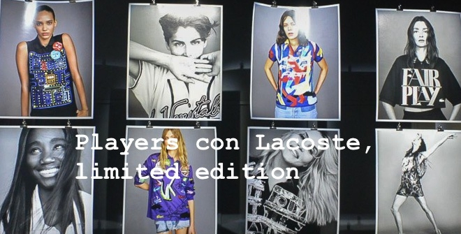 Players con Lacoste, limited edition