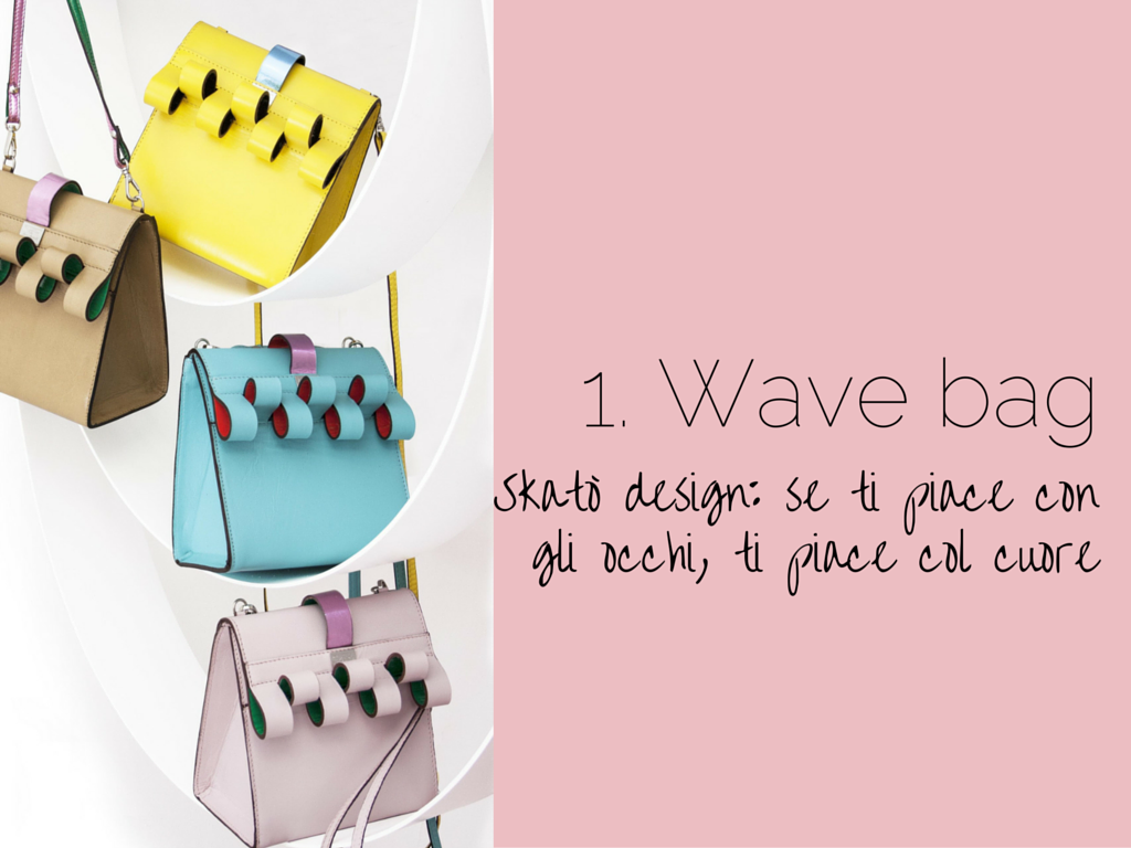 Wave Bag, il mare in borsa color pastello