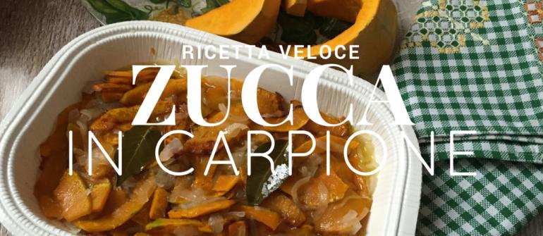 RICETTA| Zucca in carpione
