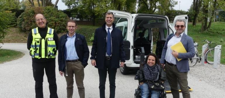 PROGETTO| Navetta disabili al Campo Canoa