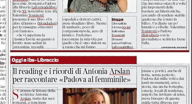 Un altro (d)anno in presentazione a Padova