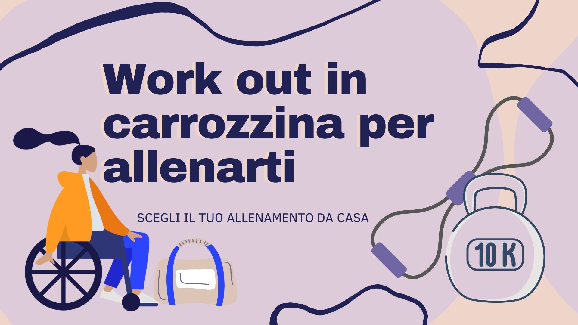 Work out in carrozzina per allenarti