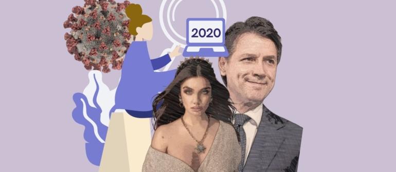 Il 2020 cercato sul web e le prospettive online per il 2021